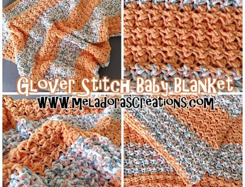 Glover Stitch Baby Blanket – Free Crochet Pattern