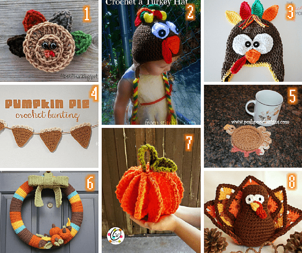 Thanksgiving crochet round up 600