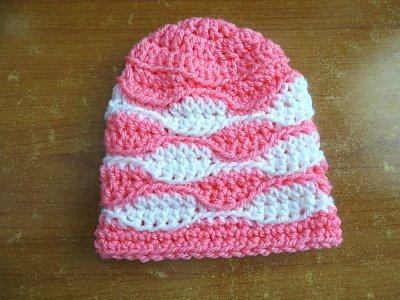 Wave Stitch Beanie Baby size