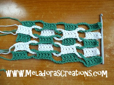Double Weave and Link Stitch 13