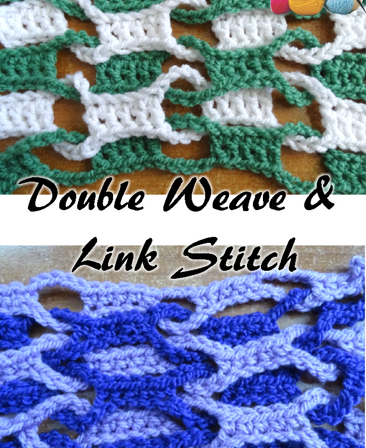 Double Weave and Link Stitch PINTEREST