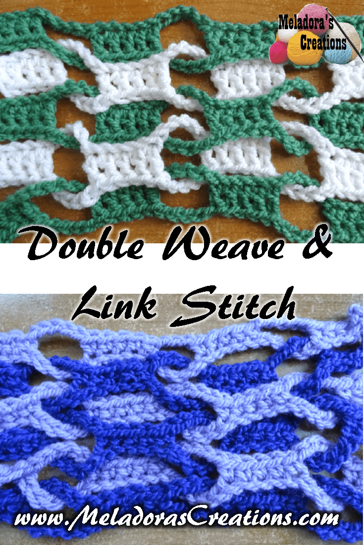 Double Weave and Link Stitch – Free Crochet Pattern