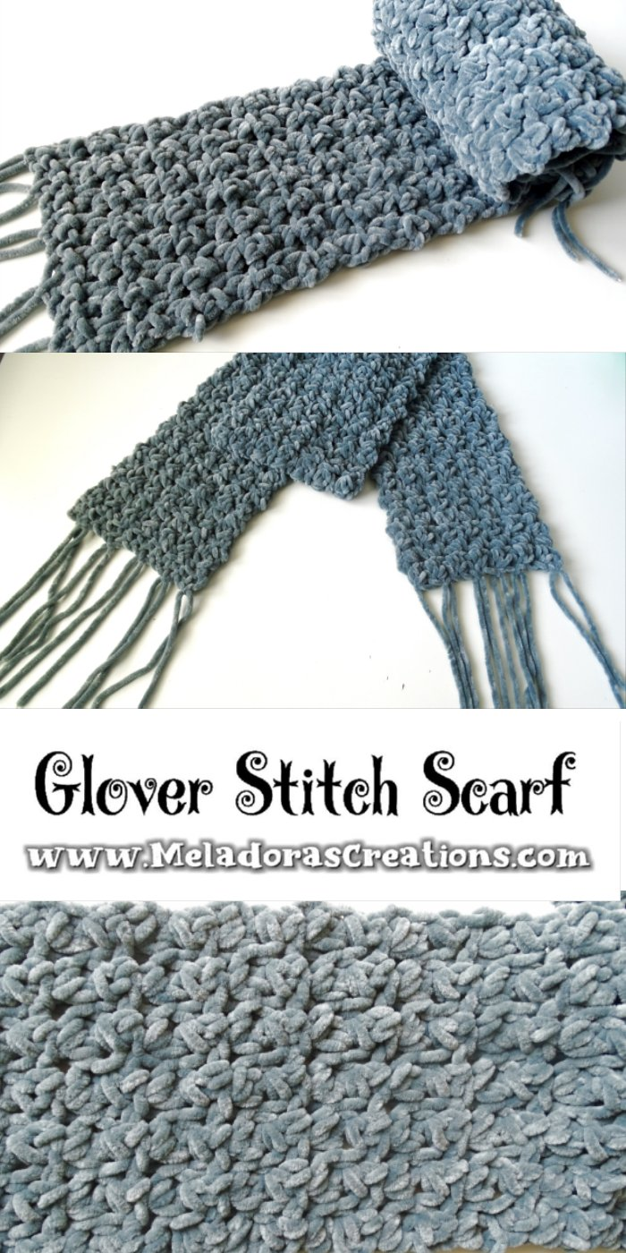 Glover Stitch Scarf – Free Crochet Pattern