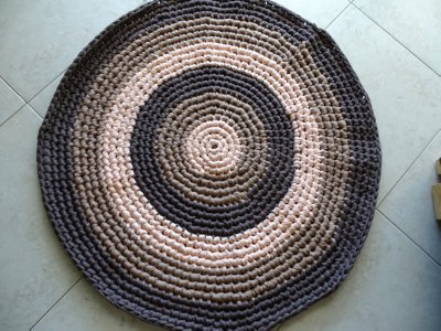 T shirt rug finished 1 400