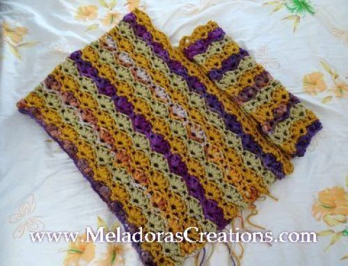 Winsome Poncho – Free Crochet Pattern