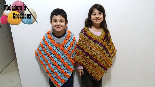 Winsome Crochet Poncho – Free Crochet Pattern