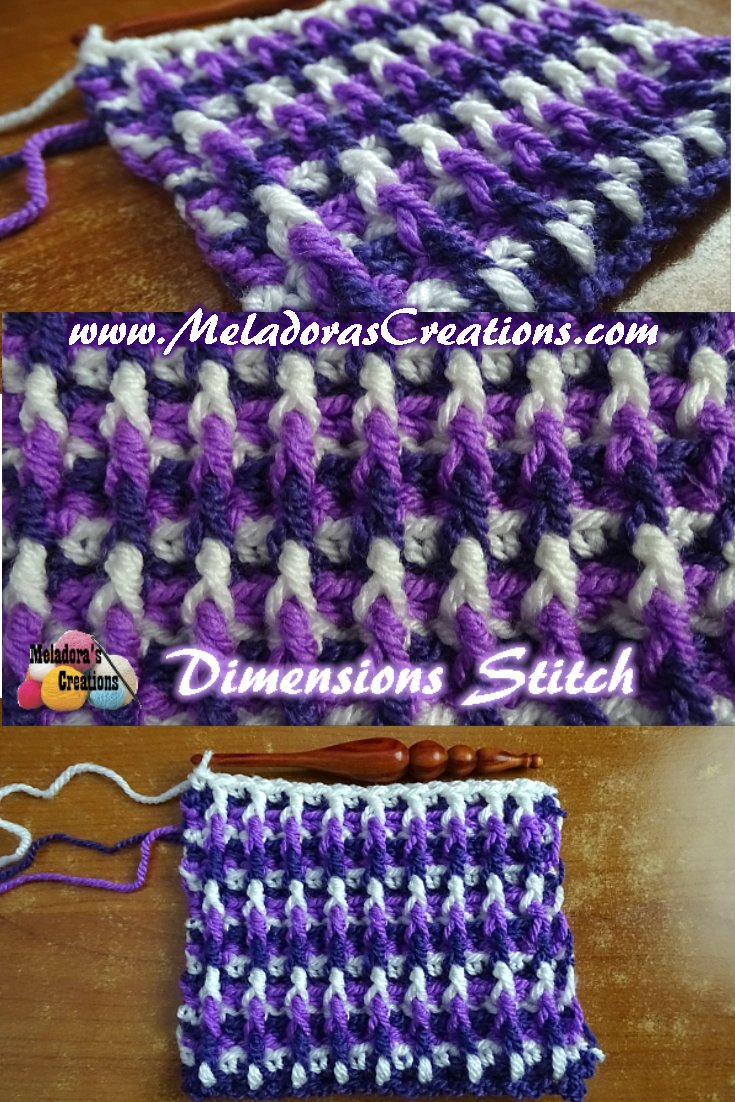 Dimensions Stitch – Free Crochet Pattern