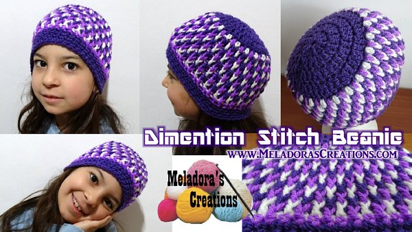 Crochet child beanie pattern