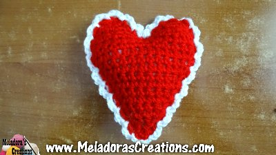 Heart Pin cusion or decoration 8