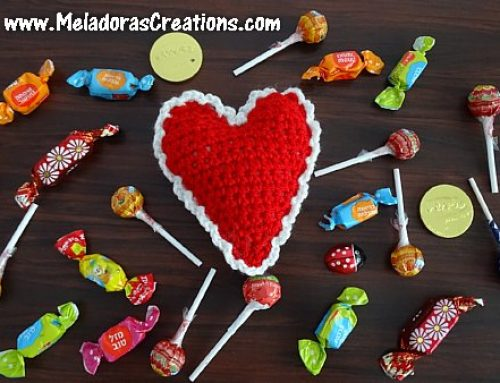 Crochet Heart Pin Cushion or Decoration – Valentine Crochet