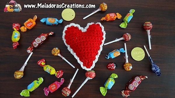 Mini Puff Heart Plushy - Valentine Crochet Pattern