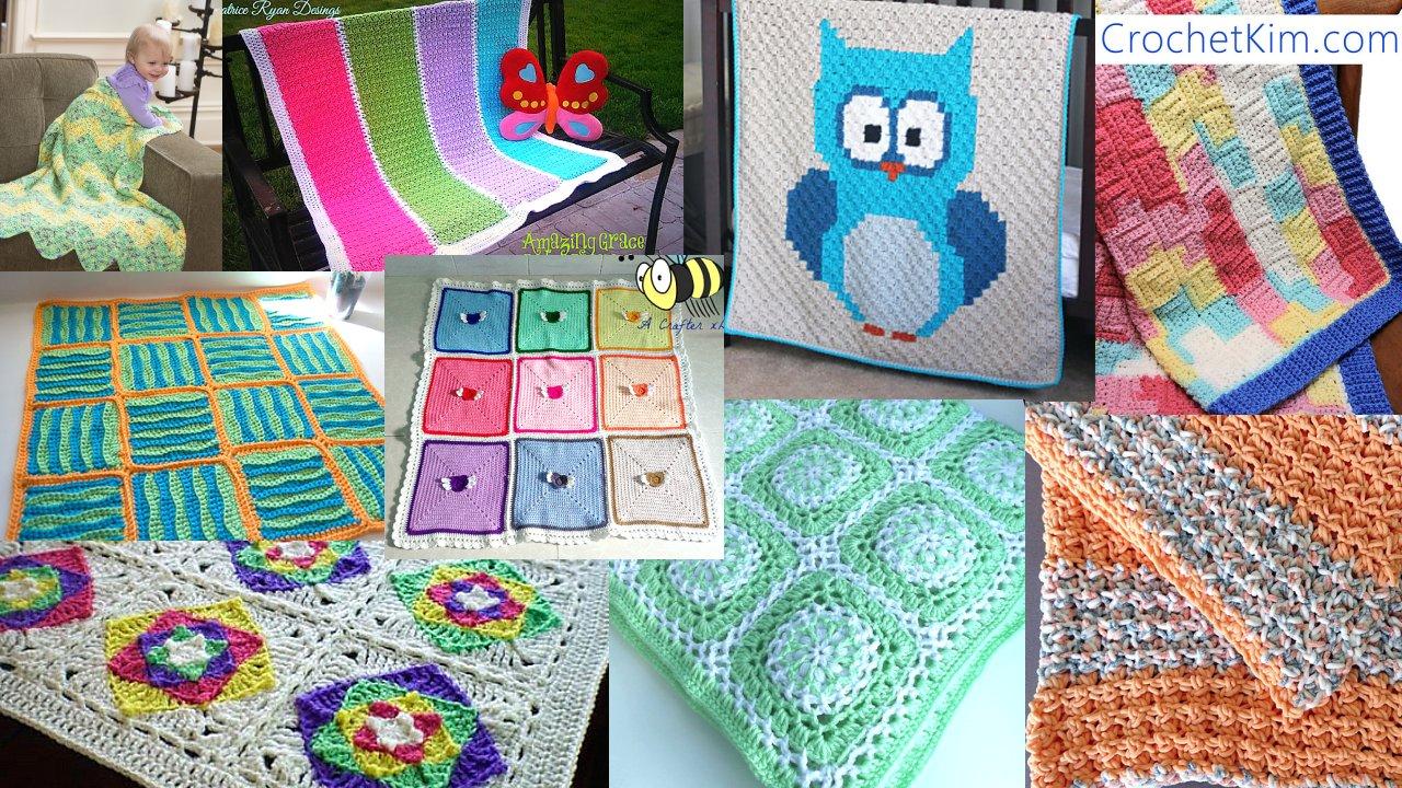 9 Baby Blankets Crochet Pattern Round Up Meladoras Creations