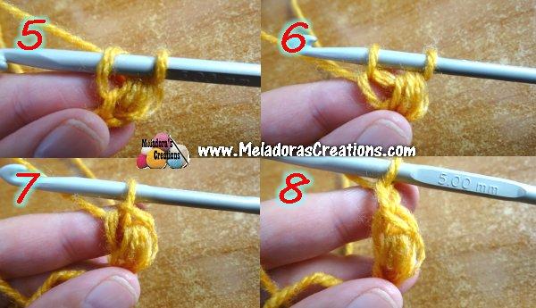 Crochet Jasmine Stitch : Jasmine Stitch 2