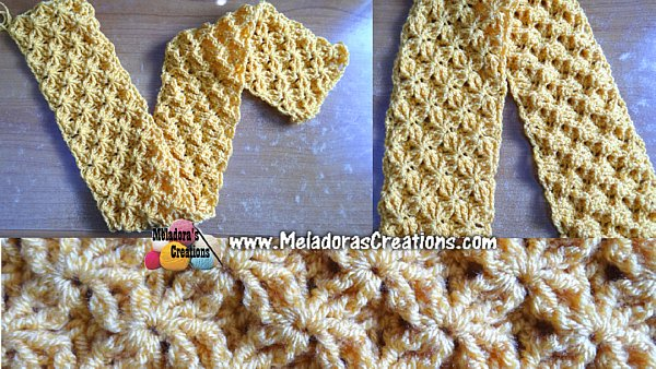 Shining Star Stitch Free Crochet Pattern Meladoras Creations