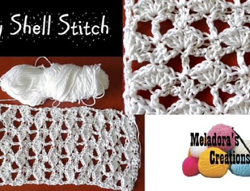 Lacy Shell Stitch – Free Crochet Pattern
