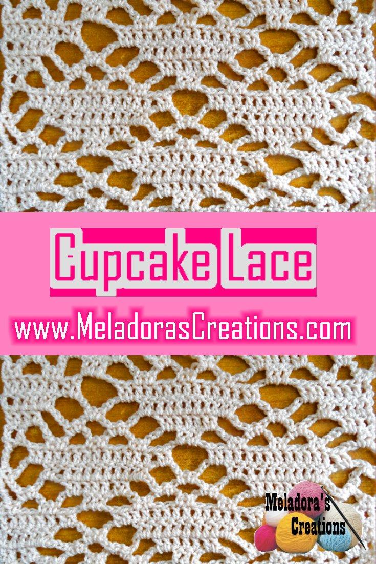 Cupcake Filet Stitch Crochet Pattern – Free Crochet Pattern
