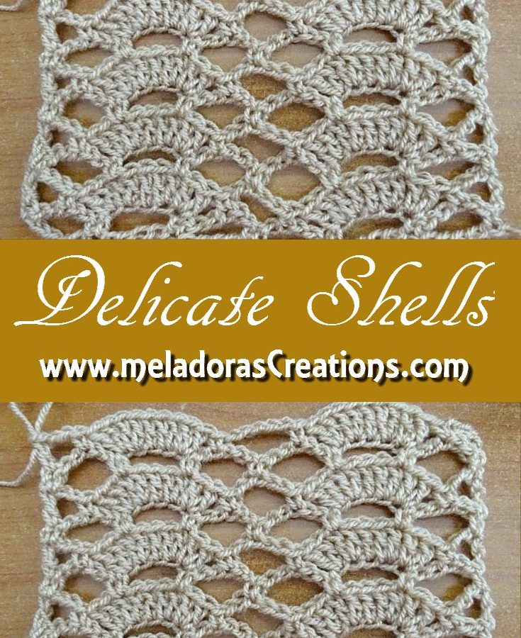 Delicate Shells Stitch PINEREST