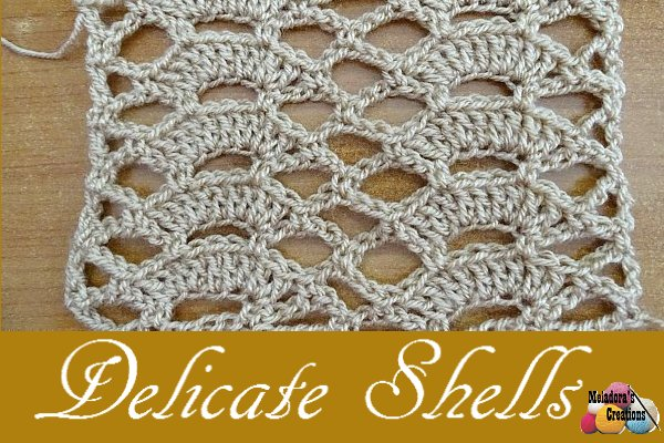 Delicate Shells Stitch WEB