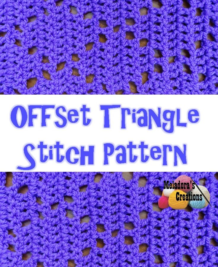 Offset Triangle Stitch PINTEREST