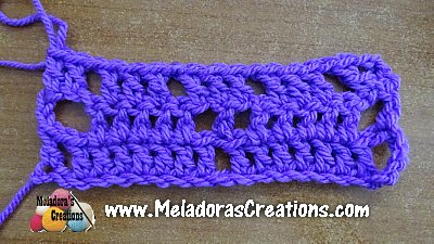 Offset Triangle Stitch Pattern 6