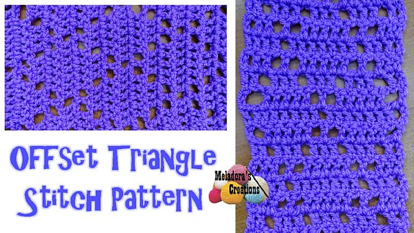 Offset Triangle Stitch WEB