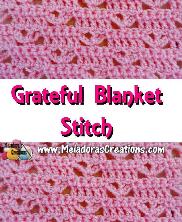 Graceful Blanket Stitch PINTEREST