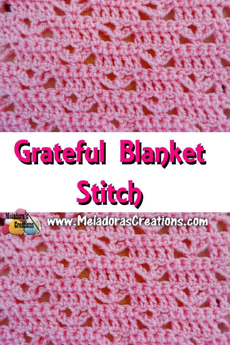 Graceful Blanket Stitch – Free Crochet Pattern