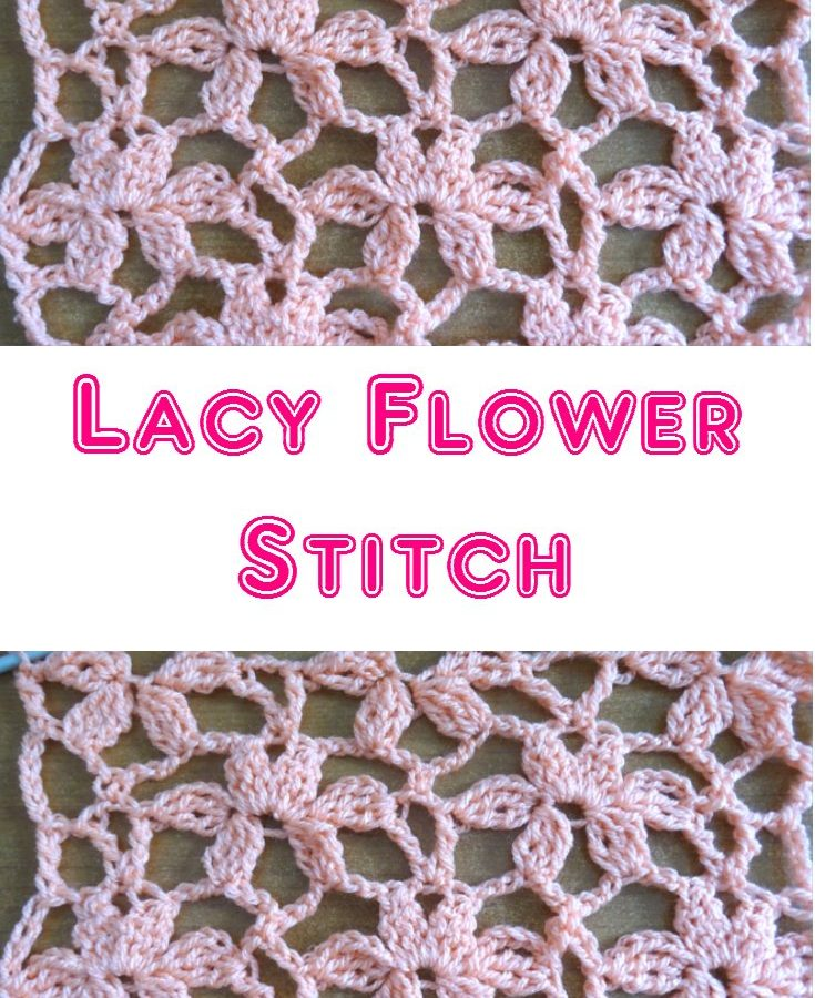 Lacy Flower Stitch PINTEREST