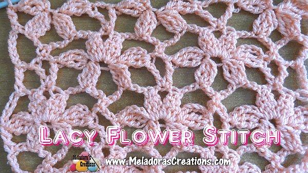 Lacy Flower Stitch WEB