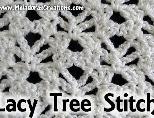Lacy Trees Stitch – Free Crochet Pattern