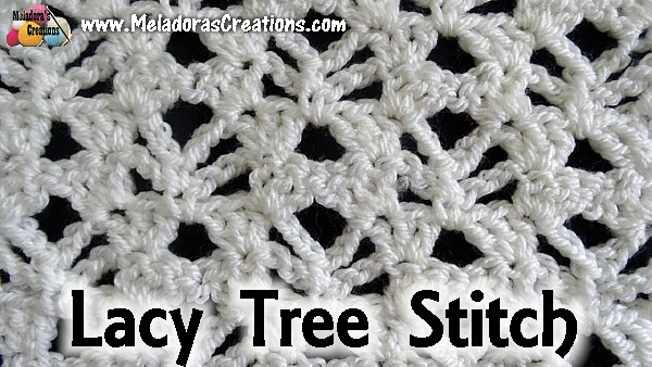Crochet Stitch For Lacy Afghan Archives Meladoras Creations
