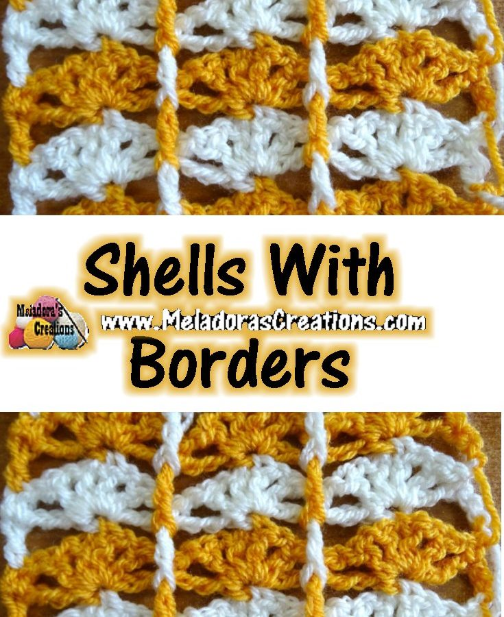 Shells with Borders PINTEREST