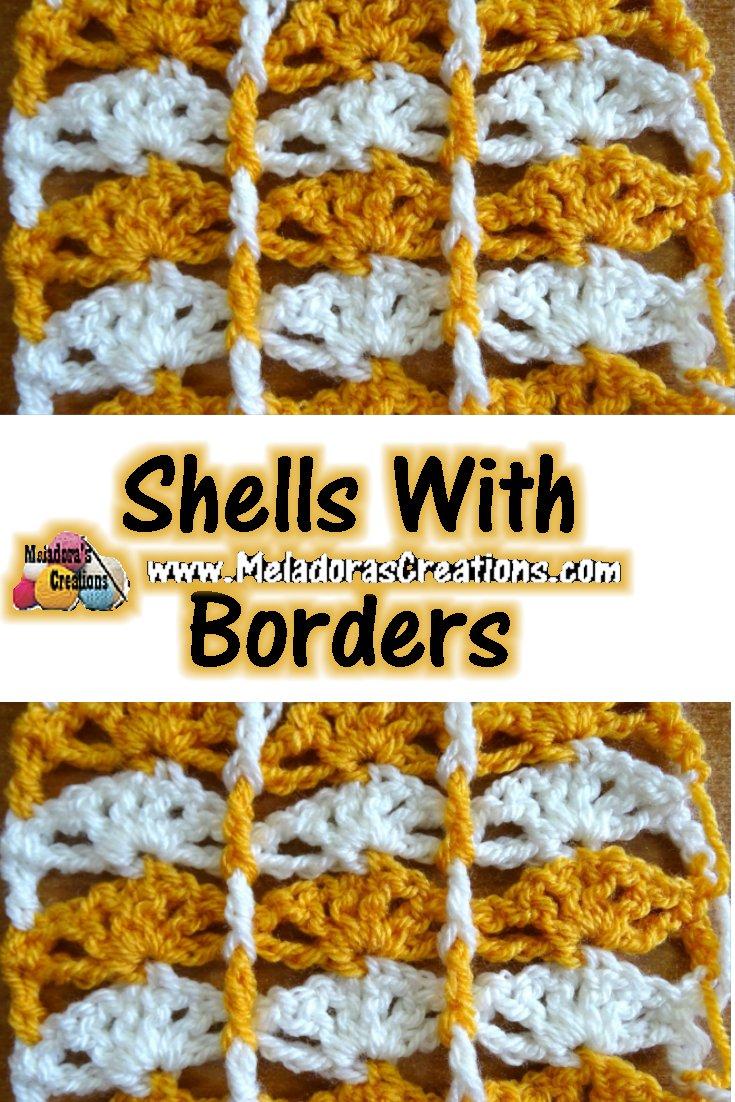 Shells with Borders – Free Crochet Pattern