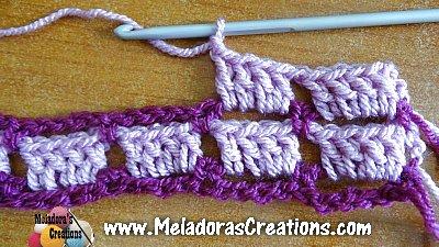 Crochet Block Stitch 6