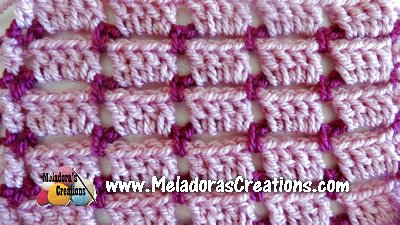 Crochet Block Stitch 7