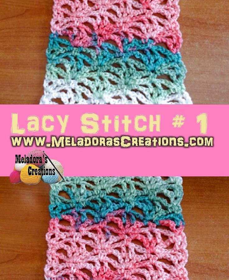Lacy Stitch # 1 PINTEREST