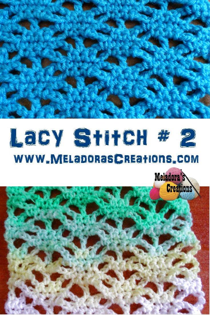 Lacy Stitch # 2 – Free Crochet Pattern