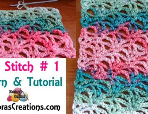 Crochet Lacy Stitch 1 – Free Crochet Pattern