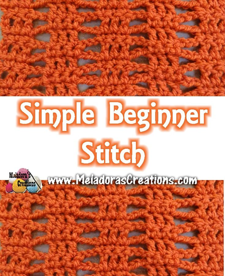 Simple Beginner Stitch PINTEREST