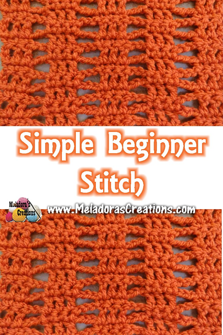 Simple Beginner Stitch – Free Crochet Pattern
