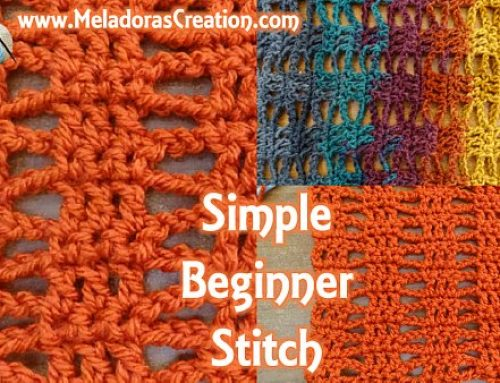 Simple Beginner Stitch – Free Crochet Pattern