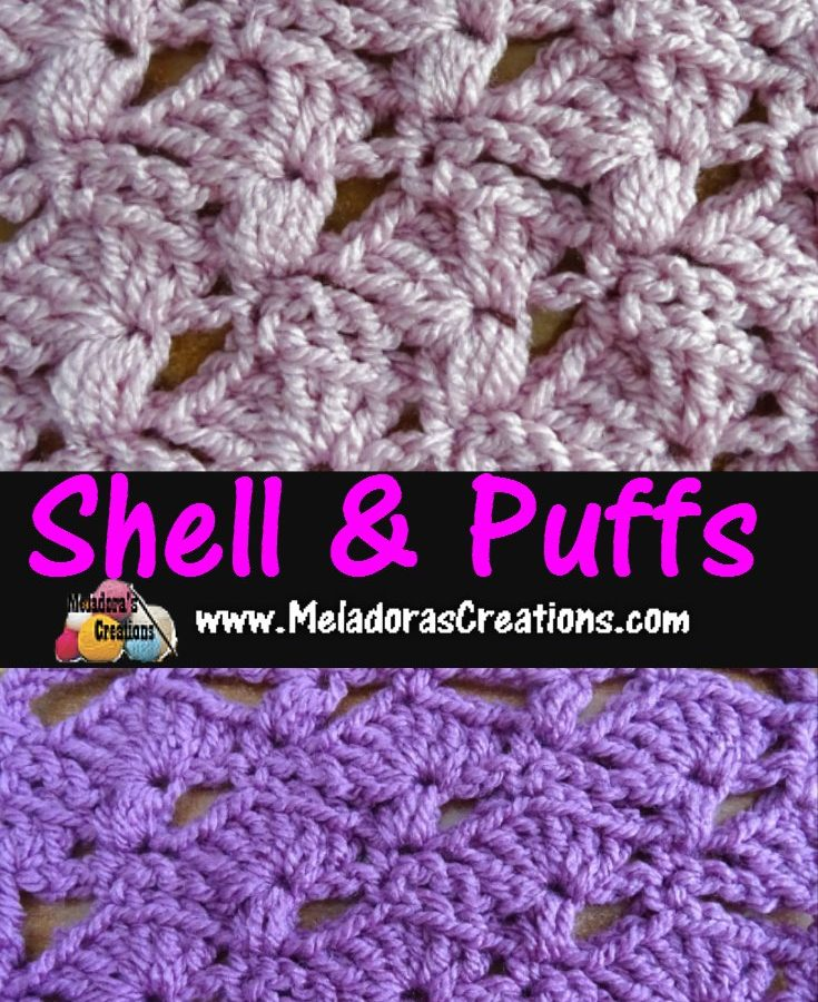 Crochet Stitch X : Meladoras Creations V Stitch Scarf - Free Crochet Pattern