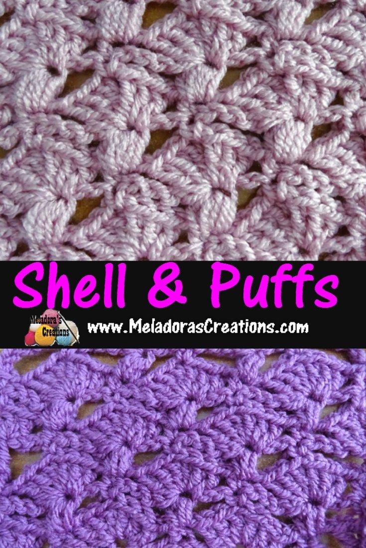 Shells & Puffs – Free Crochet Pattern