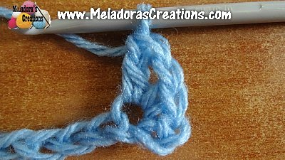 Simple Beginner Crochet Stitch 3 Meladoras Creations