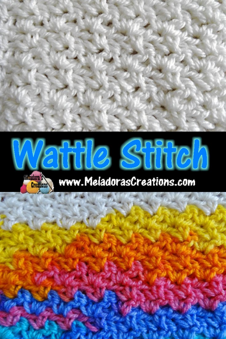 Wattle Stitch – Free Crochet Pattern