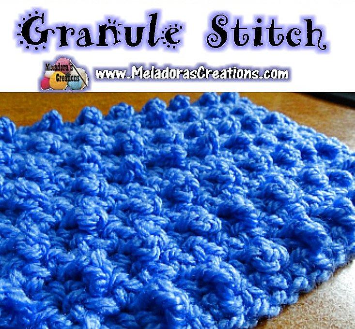 Granule Stitch – Free Crochet Pattern