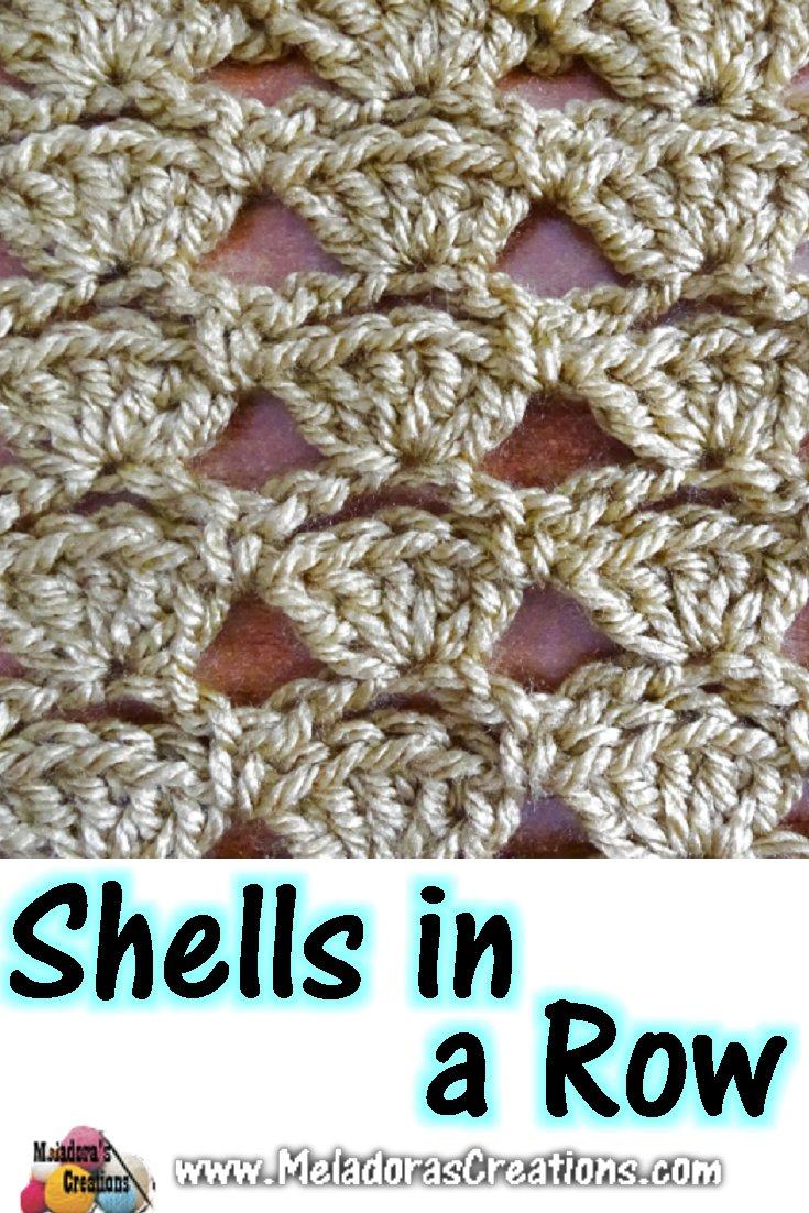 Shells in a Row – Free Crochet Pattern