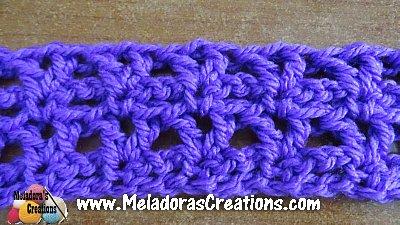 Easy V Stitch – Free Crochet Pattern