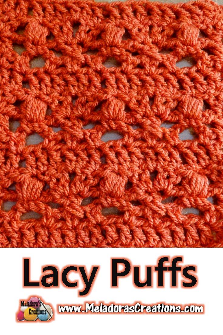 Lacy Puffs – Free Crochet Pattern