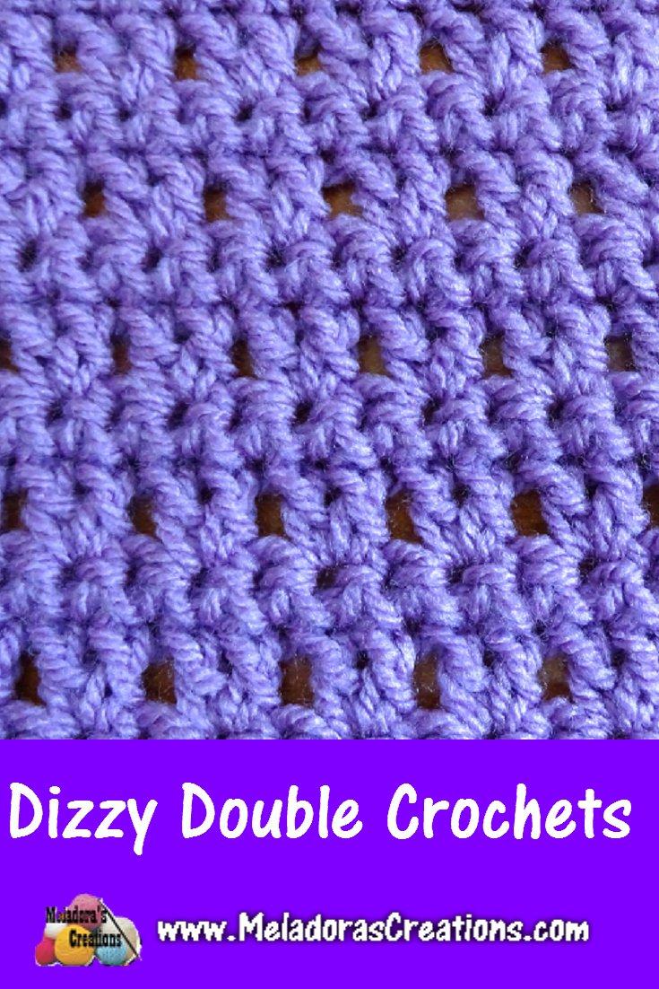 Dizzy Double crochets – Free Crochet Pattern